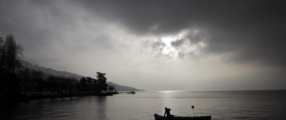 Der Genfer See ist mit Plastikmüll verschmutzt
