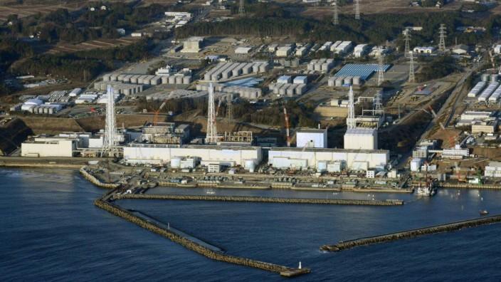 Das zerstörte AKW Fukushima Daiichi im März 2013