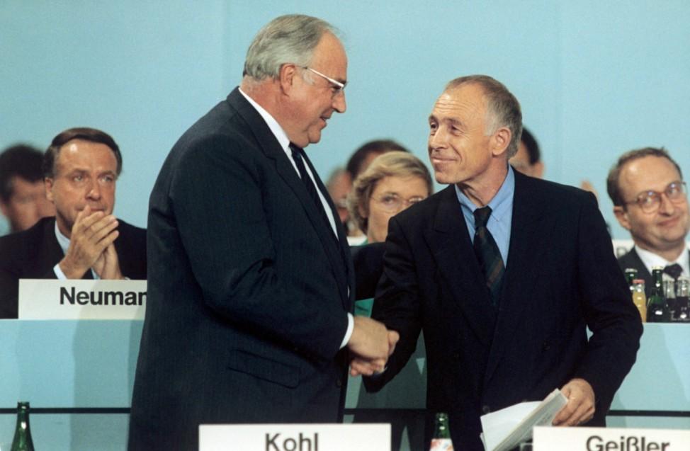 CDU-Bundesparteitag in Bremen 1989