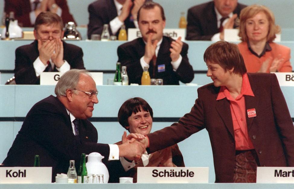 CDU-Parteitag in Dresden 1991
