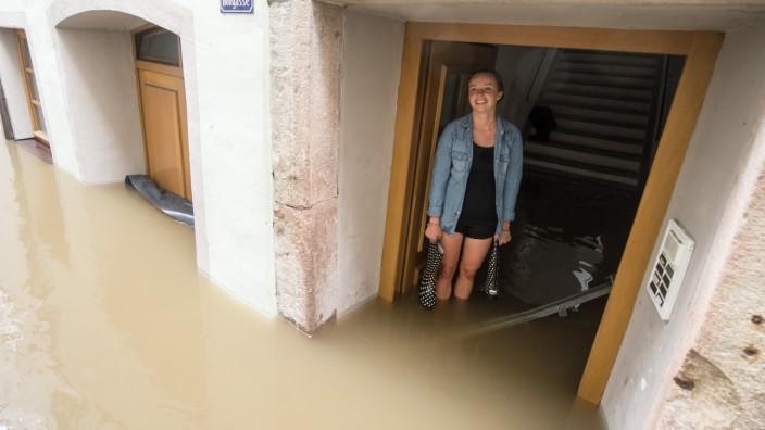Hochwasser in Passau Versicherung