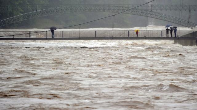 Hochwasser Allgäu