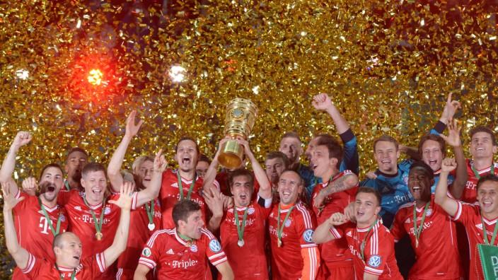 DFB-Pokal FC Bayern München - VfB Stuttgart