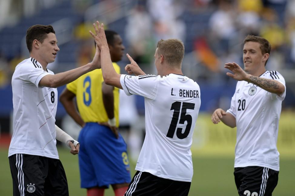 Ecuador at Germany