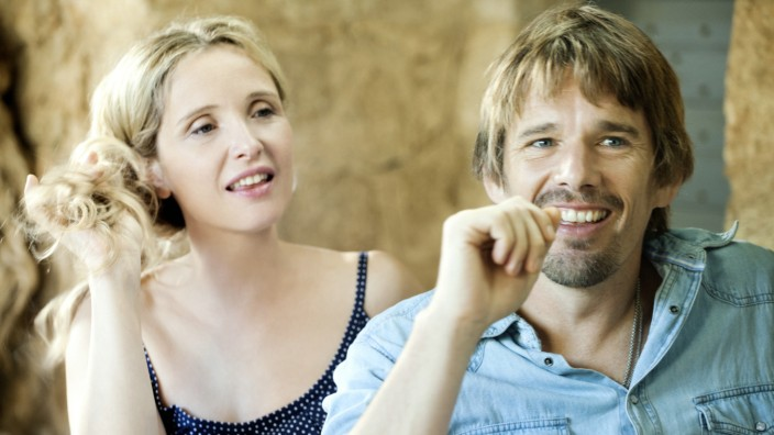 Julie Delpy (links) und Ethan Hawke in Before Midnight