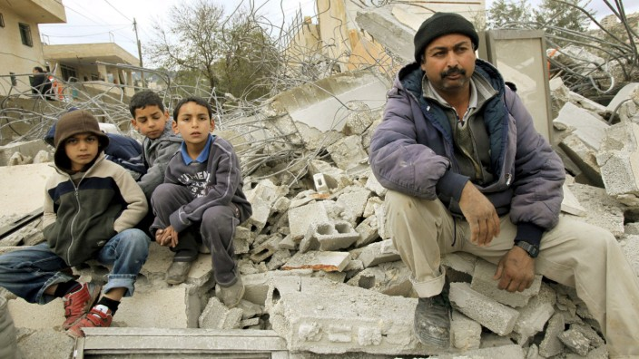 Haus von Palästinensern in Ostjerusalem abgerissen
