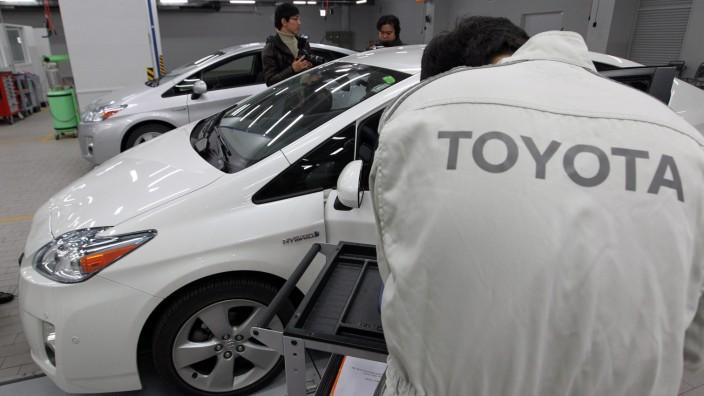 Rückruf, Toyota, Prius