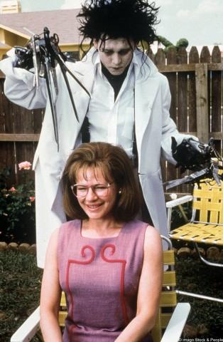Johnny Depp in Edward mit den Scherenhänden