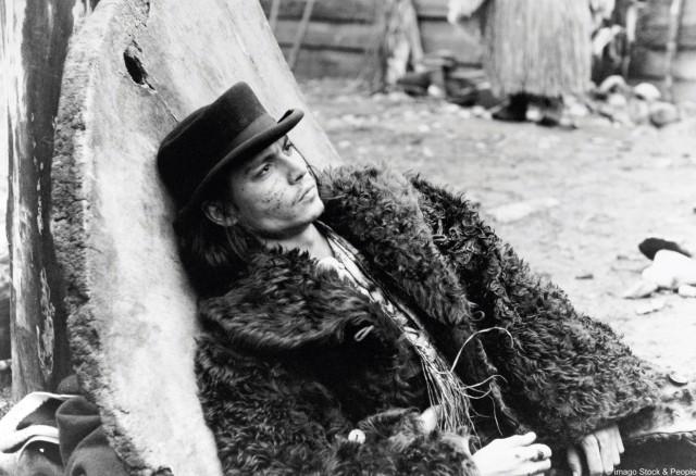 """Johnny Depp in """"Dead Man"""""""