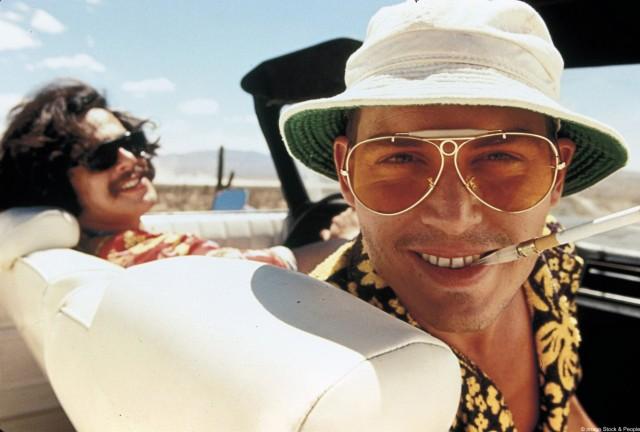"""Johnny Depp in """"Fear and Loathing in Las Vegas"""""""