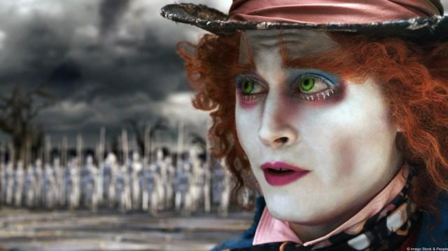 """Johnny Depp als verrückter Hutmacher in """"Alice im Wunderland"""""""