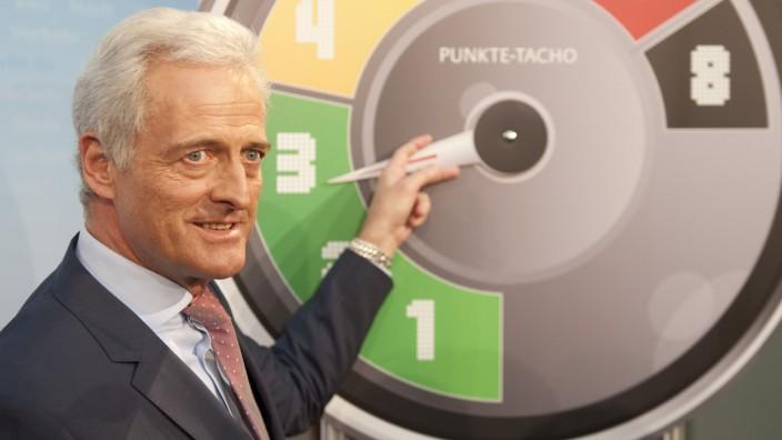 Peter Ramsauer Punkte-Tacho
