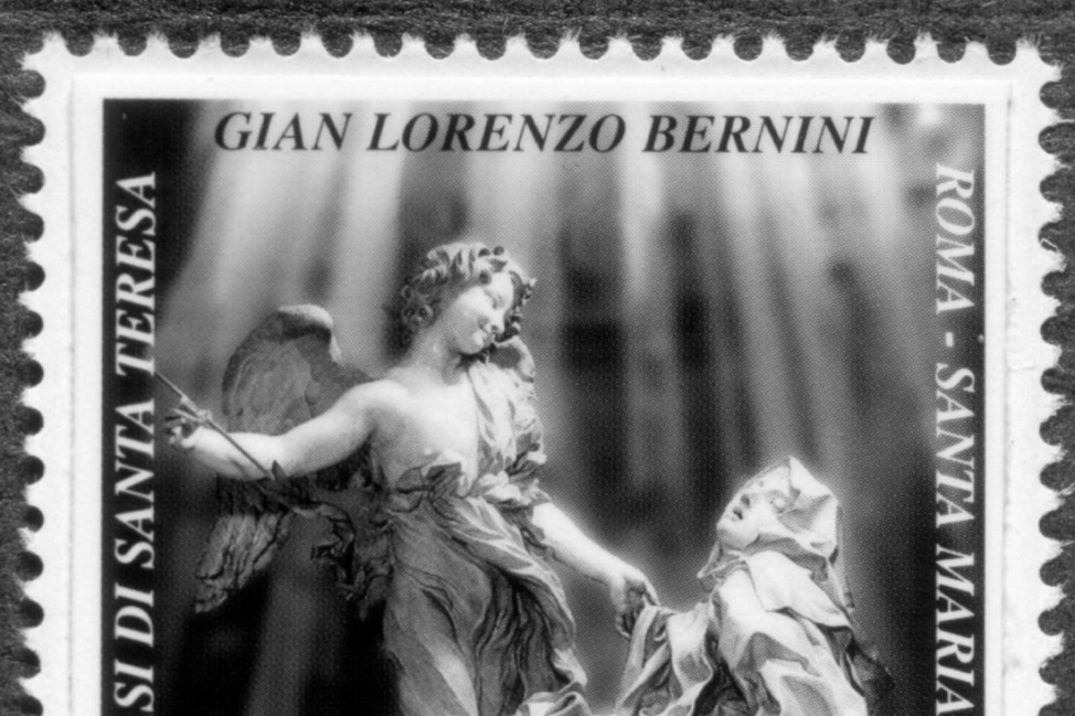 Briefmarke Italien Bernini