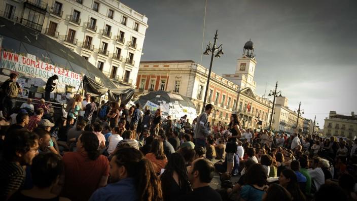 Madrid hat die Puerta del Sol in Vodafone Sol umbenannt und damit Traditionalisten verärgert