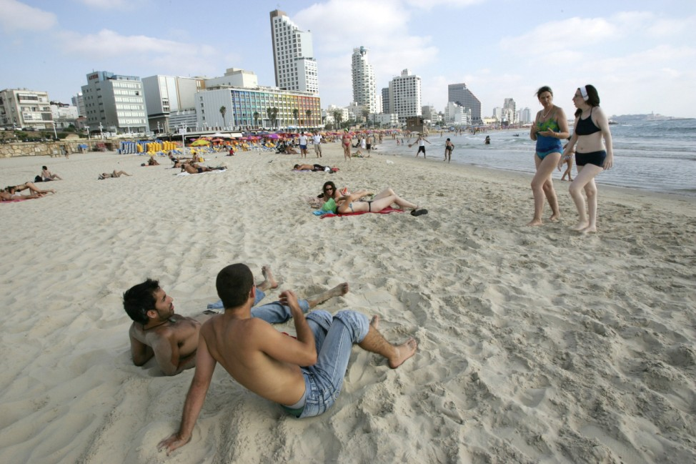 Tel Aviv Israel Strand