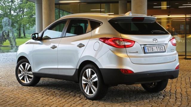 Der neue Hyundai ix35 unterscheidet sich nicht sehr von seinem Vorgängermodell.