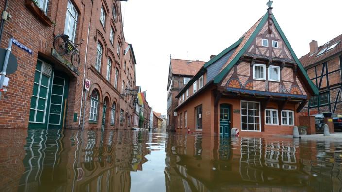 Hochwasser Lauenburg