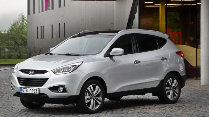 Der neue Hyundai ix35 ist von Herbst an erhältlich.