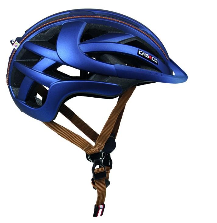 Der Radhelm Casco Sportiv TC ist in der Stadt oder beim Mountainbike fahren einsetzbar. Im Test von Stiftung Warentest hat er gut abgeschnitten - vor allem in Sachen Komfort.