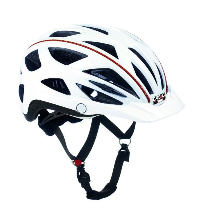 Das schlichte Design und die gute Qualität des Casco Active TC machten den Helm zum Testsieger bei Stiftung Warentest. Er passt sich dem Kopf des Fahres gut an und sitzt bequem. Ein günstiger und auch