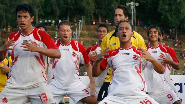 Tahiti debütiert beim Confed-Cup