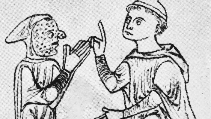 Leprakranker im Mittelalter