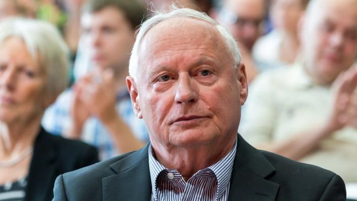 Oskar Lafontaine beim Linke-Parteitag