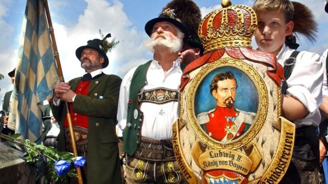 Königstreue gedenken Todestag von Ludwig II.