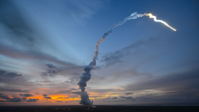 Arianespace Launch Lifts Record Paypayload To International Space Station