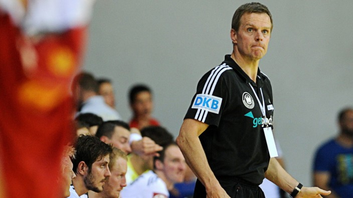 Handball European Championship qualification match