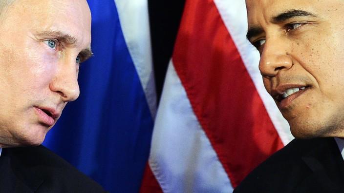 Snowden-Affäre: Beim G20-Kongress 2012 im mexikanischen Los Cabos hatten sich US-Präsident Barack Obama und Russlands Präsident Wladimir Putin noch getroffen
