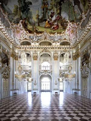 Rundgang durch deutsche Schlösser und Burgen II, Schloss Nymphenburg, München, Bayern, Bayerische Schlösserverwaltung