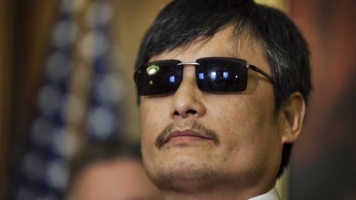Blinder chinesischer Dissident Chen Guangcheng