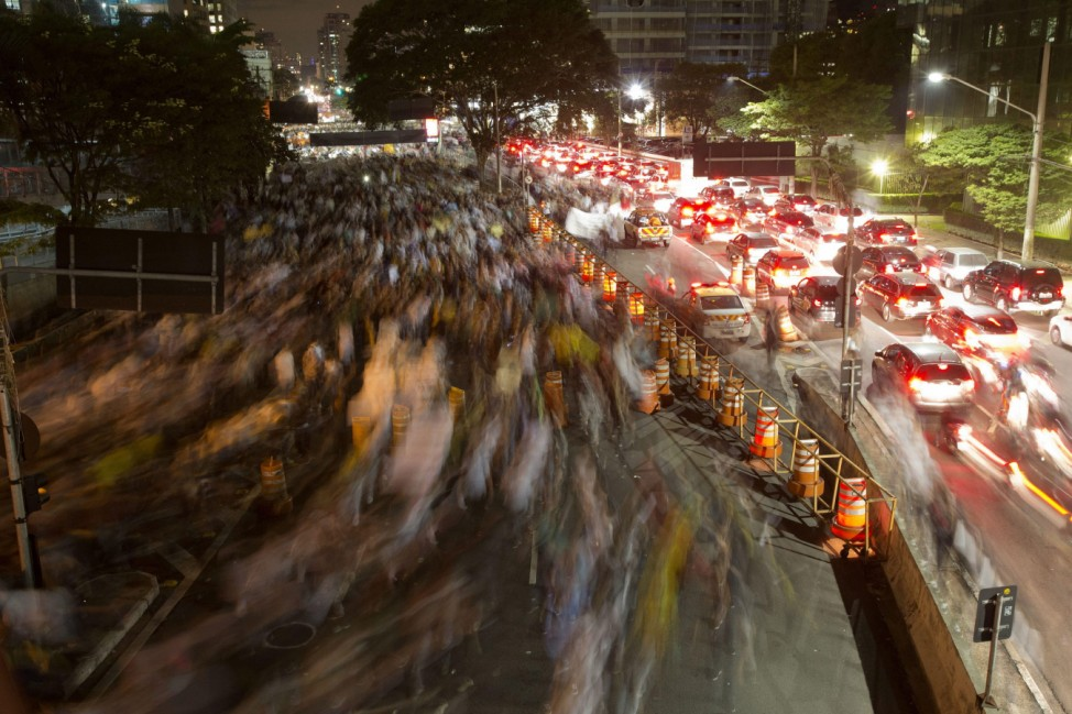 PROTESTS AGAINST RISING PUBLIC TRANSPORT COSTS IN RIO DE JANEIRO