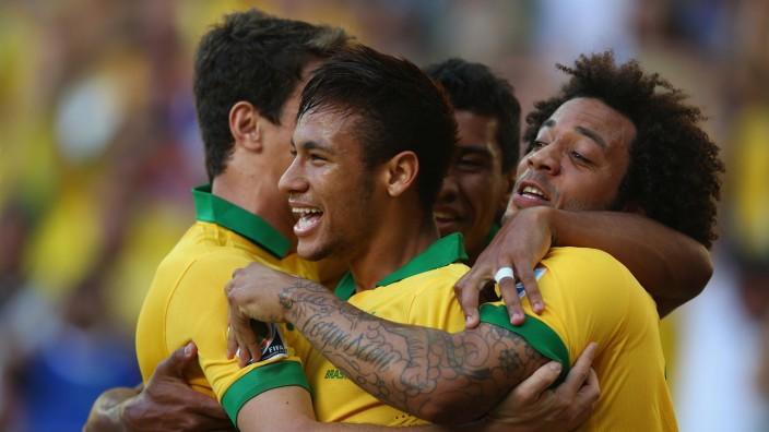 Brazilien Mexico Confed-Cup Neymar
