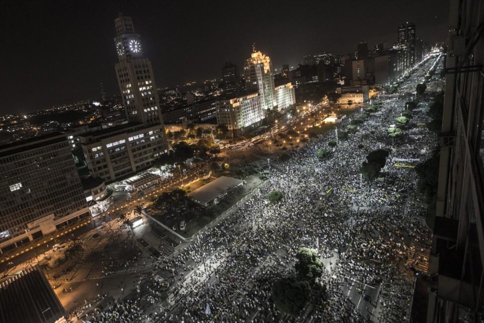 Riots in Rio de Janeiro