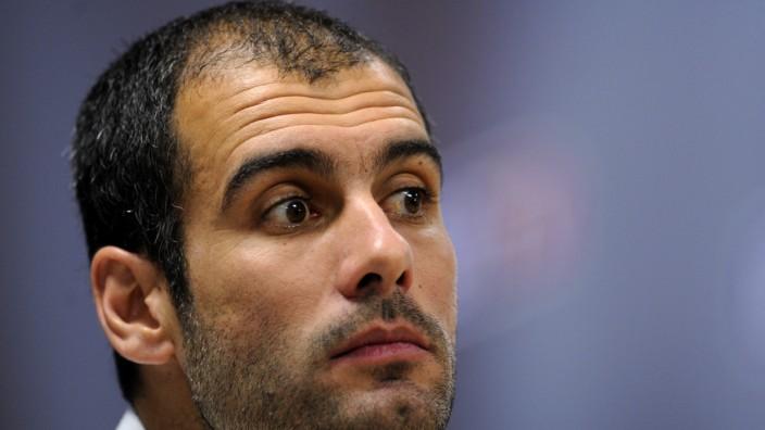 Pep Guardiola vorm Dienstantritt: Pep Guardiola: Gespannt erwartet in München