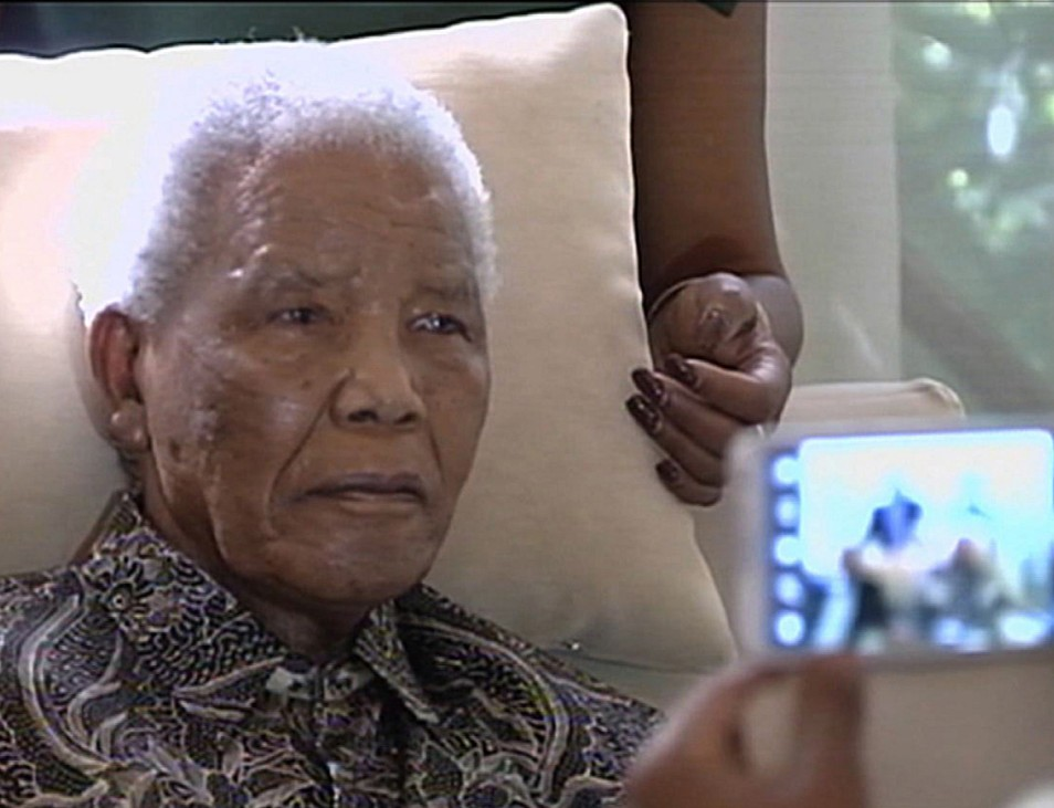 Nelson Mandela, April 2013