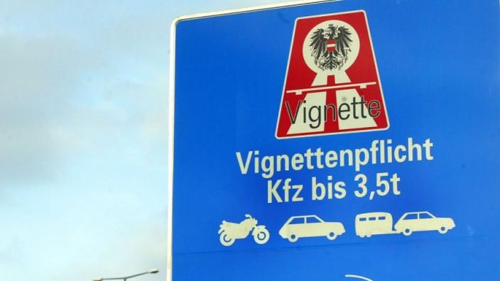 Vignette, Autobahn, Maut