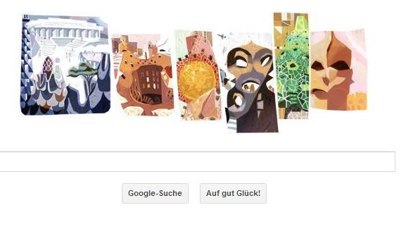 Google Doodle Antoni Gaudí