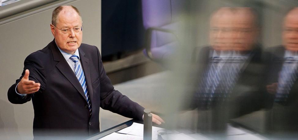 Bundestag - Peer Steinbrück