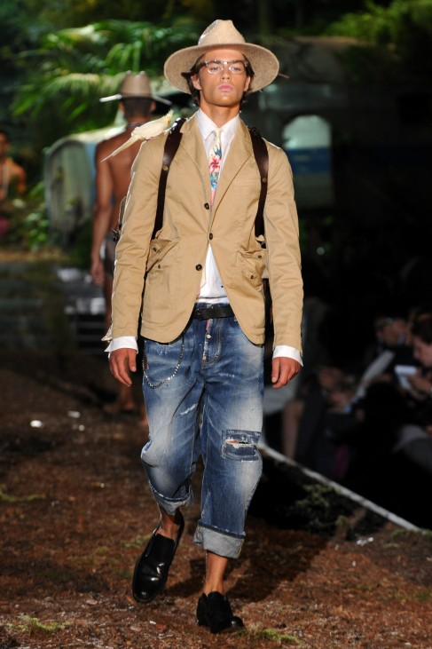 DSquared2 - Runway - MFW S/S 2014