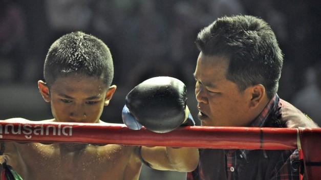 Thomas Heinrich Photocircle Fotograf Muay Thai with coach