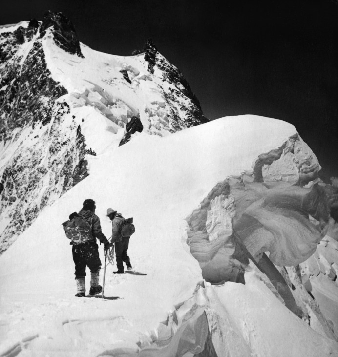 Teilnehmer einer Himalaja-Expedition, 1938