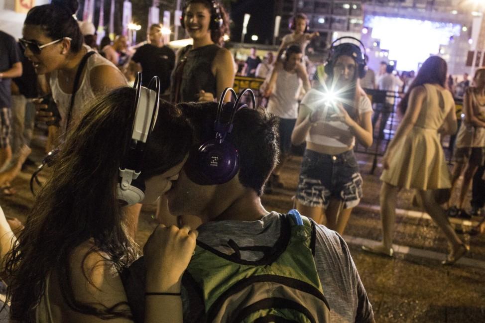 Tel Aviv White Night Festival - 2013