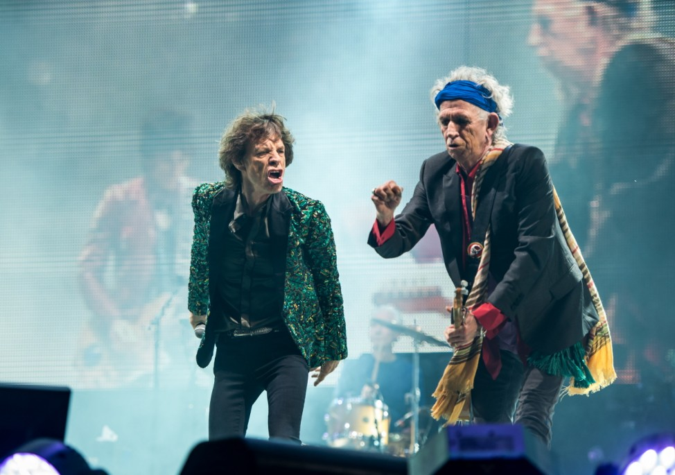 Rolling Stones Mick Jagger Keith Richard Glastonbury Festival