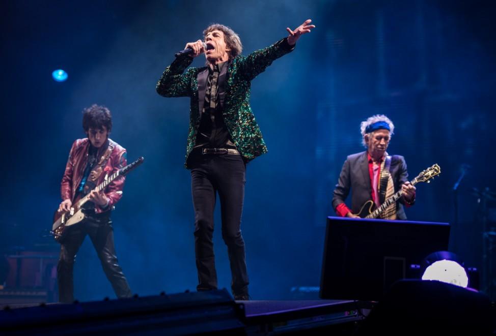 Rolling Stones Glastonbury Festival 2013  Open Air Festival