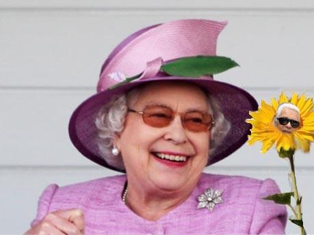 Elizabeth II.; Lagerfeld