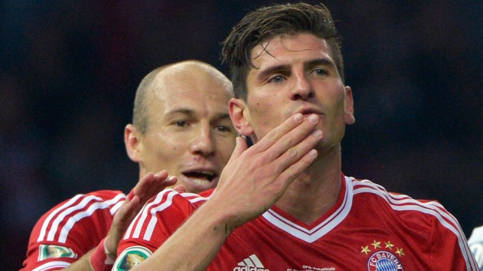 Mario Gomez FC Bayern München