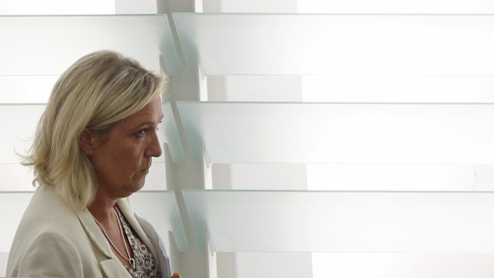 Marine Le Pen im Europaparlament